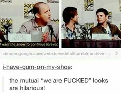 Image result for tumblr supernatural okee dokee post