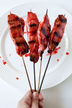 Asian Grilled and Glazed Chicken Skewers canyoustayfordinner.com