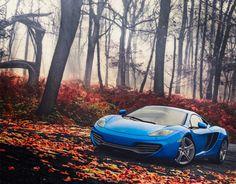 McLaren in the forest