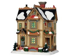 Lemax Village Collection Home For Christmas Residence # 35511
