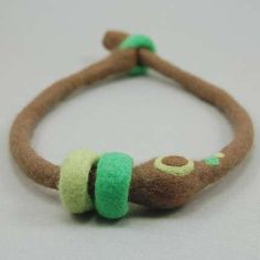 needle felting jewelry - Google Search