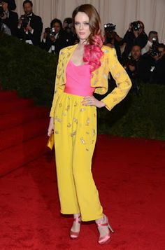 Coco Rocha in Givenchy Couture Vintage