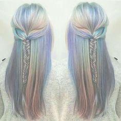 COLOR: Angel's Hair or Opal Hair ..... Love the braid too!!!!