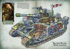 steel legion baneblade