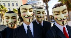 "Anonymous is a loosely associated international network of activist and hacktivist entities. A website nominally associated with the group describes it as ""an Internet gathering"" with ""a very loose and decentralized command structure that operates on ideas rather than directives"".[2] The group became known for a series of well-publicized publicity stunts and distributed denial-of-service attacks on government, religious, and corporate websites.[3]"