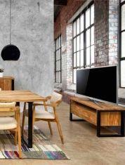 Tables TV en Teck : Collection JACKO