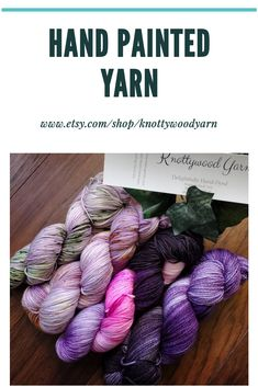Hand-dyed yarns with beautiful unique colorways are a perfect way to showcase your knitting or crochet projects. Are you looking for stunning ethically sourced yarn? Click through for more amazing colorways and base options. Sock Knitting, Sock Yarn, Fair Isle Knitting Patterns, Crochet Patterns, Purple Hands, Fingering Yarn, Types Of Yarn, Hand Dyed Yarn, Knit Or Crochet