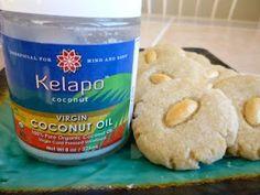 Coconut Oil and Glluten Free Vegan Almond Cookies.