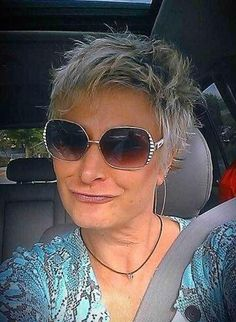 Short Spiky Hair for Older Women styles women for curly hair for round faces for school for thin hair male mens step by step # short hair styles for round faces older Stylish Short Haircuts, Short Spiky Hairstyles, Best Short Haircuts, Cool Hairstyles, Hairstyles 2018, Bob Haircuts, Layered Haircuts, Medium Hairstyles, Haircuts For Over 60