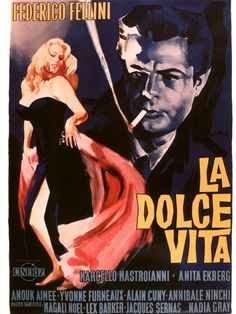 """La Dolce Vita"", de Federico Fellini"