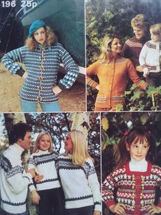 Patons Nordic Look - 8 designs for the family Vintage Knitting, Christmas Sweaters, Knitting Patterns, Design, Fashion, Moda, Knit Patterns, Fashion Styles, Christmas Jumper Dress