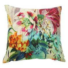 Boeme Emaline Cushion - what about this on the pink sofa? It's backed in teal velvet. If you like it how many should I buy?