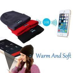 Soft Warm Headphone Wireless Bluetooth Smart Hat