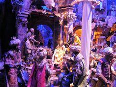 Neopolitan presepio in San Gregorio in Naples, Italy. EuroTravelogue™: In Search of Christmas: Celebrating Italian Christmas Traditions