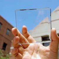 Les panneaux solaires bientôt transparents ? Par l'énergie d'avancer.