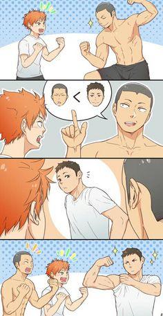 Daichi is another kskjsk level ❤ amor boy dark manga mujer fondos de pantalla hot kawaii All Out Anime, 5 Anime, Fanarts Anime, Anime Guys, Anime Meme, Anime Art, Daichi Sawamura, Daisuga, Haikyuu Karasuno