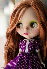 Phoebe Maybe custom ~ freckles!