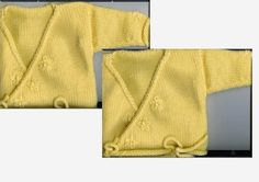 I have two friends who are just starting out knitting on midgauge machines so I thought I'd post a baby sweater pattern that is an excellent...