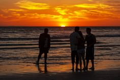 Friends Watch the Sunset at Oceanside - May 1, 2014 by Rich Cruse on 500px