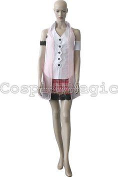 Final Fantasy XIII 13 Serah Farron Cosplay Costumes - CosplayMagic.Com
