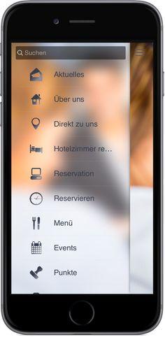 Mobile Marketing - Genau die richtigen Funktionen in der App für Hotel und Gastgewerbe http://nextvisionapps.com/de/online-demo-hotel