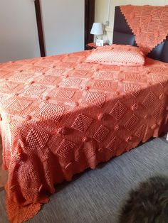 Crochet Bedspread Pattern, Bed Spreads, Comforters, Blanket, Furniture, Home Decor, Handmade Crafts, Creature Comforts, Quilts