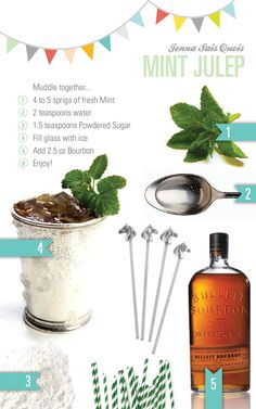 Mint Julep (maybe well finally start making these for Derby Day... and hats, need to start wearing hats!)