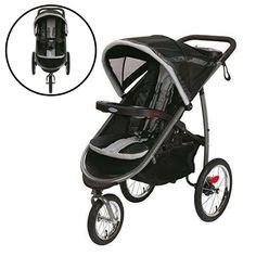 Baby Jogger Strollers System Infant Seat Boy Girl Toddler Adjustable Swivel #Unbranded