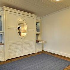 Mirror in Murphy bed...guest room/meditation room