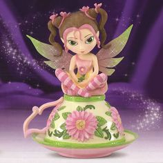 Jasmine Becket-Griffith Figurines | Details about Jasmine Becket Griffith Precious Swee-Tea Fairy Figurine ...