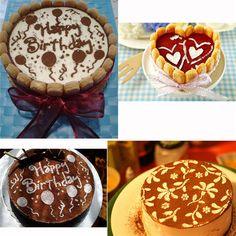 4 Pcs Round Cake Sugar Cutter Paste Fondant Sugarcraft Decorating in Crafts, Cake Decorating | eBay