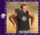 Sacred Geometric Mens yoga T-shirt