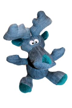 a little moose called elmar. created by kunst&garn
