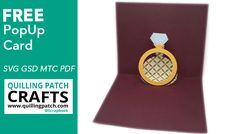 """New Pop up Card! Gorgeous Popup """"Ring"""" Card"""