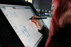 Wacom, the specialists in gadgets for digital artists and designers, invents a system for drawing on phones, tablets, or computers.