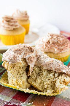 Easy Snickerdoodle Cupcake Recipe