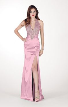 Pink evening gown Alyce Designs - 6813