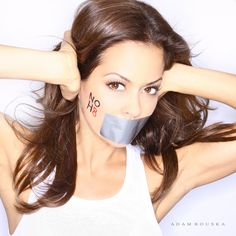 Brooke Burke (DWTS Host, NOH8 campaign)