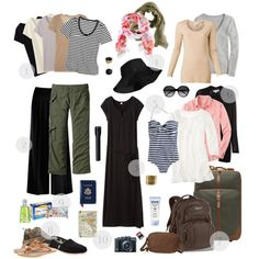 Egypt Travel Packing by prettyannamoon on Polyvore featuring Uniqlo, Witchery, Club Monaco, J.Crew, By Malene Birger, Patagonia, Burberry, TOMS, New Balance and Mulberry