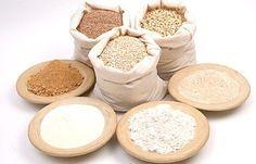 Muchas personas no pueden o no quieren consumir la harina refinada de trigo. Por esta razón hay una gran cantidad y variedad de harinas de diferentes orígenes para poder elegir. Harinas alternativas y saludables: -harina de amaranto -harina de garbanzos -harina de banana -harina de almendras -harina de soja -harina de coco -harina de quínoa -harina de algarroba -harina de mandioca -harina de maíz Con las harinas alternativas se pueden elaborar panes, bollería, postres, tortas, pastas, pizza…