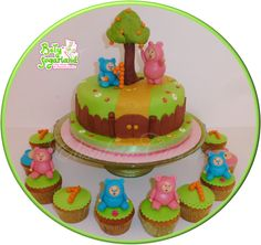 Maravilhas Baby TV Billy BamBam Bolos 3D Cupcakes