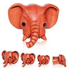 Organic Sawo Wood Elephant Saddle Plug I want these so bad. My dream plugs. Body Jewelry Shop, Ear Jewelry, Jewelry Stores, Jewlery, Plugs Earrings, Gauges Plugs, Organic Plugs, Elephants Never Forget, Wood Plugs