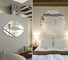Resultado de imagem para decoração aparador e espelho na parede