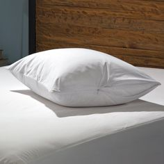 Sealy Cotton Touch with Stain 2pk Pillow Cover, White