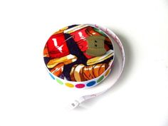 Tape Measure For Sewers Fabric Measuring Tape by AllAboutTheButtons, $7.75 USD