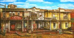 Backdrops: Old Western Town 2