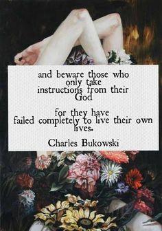 Charles  Bukowski   ♥