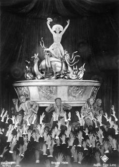 Photograph:Brigitte Helm appears in Metropolis (1927), an expressionist science-fiction film directed by Fritz Lang.
