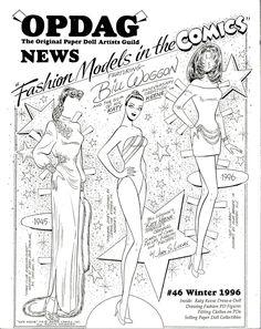 Katy Keene 50th Anniversary Paper Doll from Opdag Magazine 46 by John Lucas | eBay