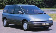 OG | 1991 Matra - Renault Espace Mk2 | Mock-up